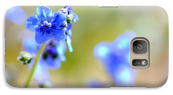 Galaxy Case featuring the photograph Baby Blu by Martina  Rathgens
