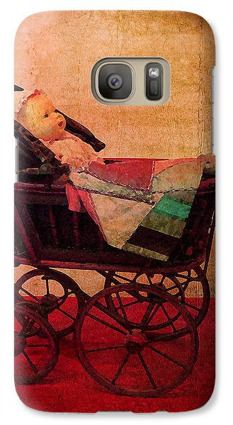 Galaxy Case featuring the photograph Baby Doll by Timothy Bulone