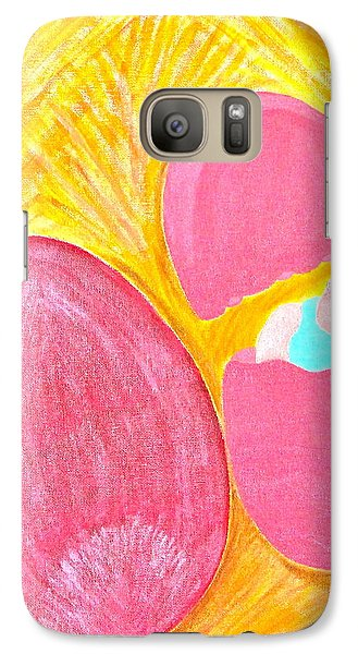 Galaxy Case featuring the painting Baby Egg by Lorna Maza