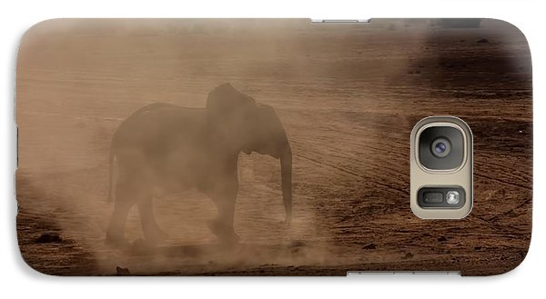 Galaxy Case featuring the photograph Baby Elephant  by Amanda Stadther