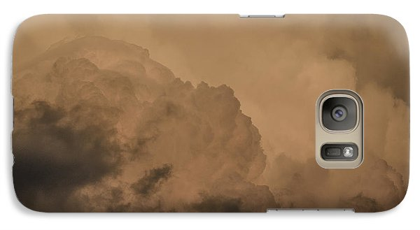 Galaxy Case featuring the photograph Baby In The Clouds by Bradley Clay