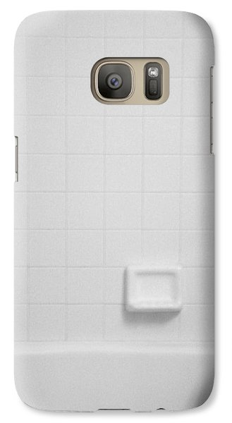Galaxy Case featuring the photograph Baby In Tub by J Anthony