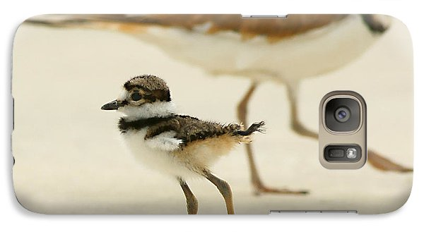 Galaxy Case featuring the photograph Baby Killdeer by Jeremy Farnsworth