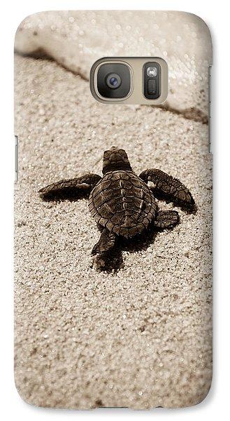 Baby Sea Turtle Galaxy S7 Case