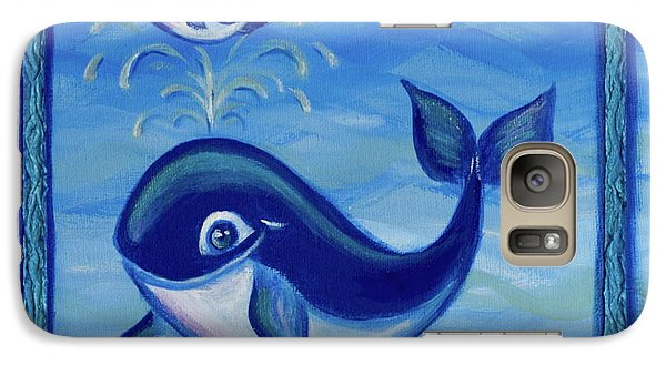Galaxy Case featuring the painting Baby Shower by Agata Lindquist