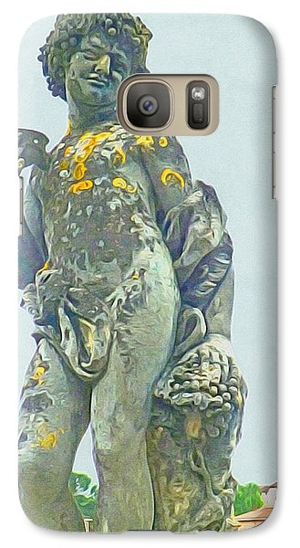 Galaxy Case featuring the photograph Bacchus At The Bishops Palace by Susan Alvaro