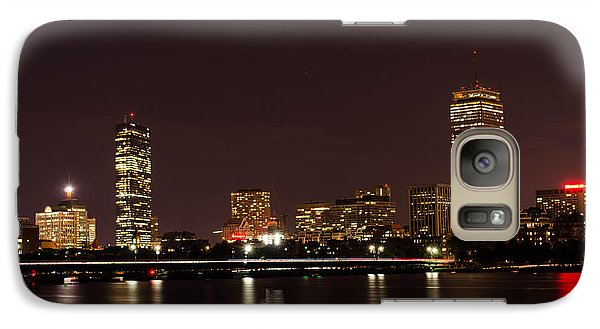 Galaxy Case featuring the photograph Back Bay At Night by Mike Ste Marie