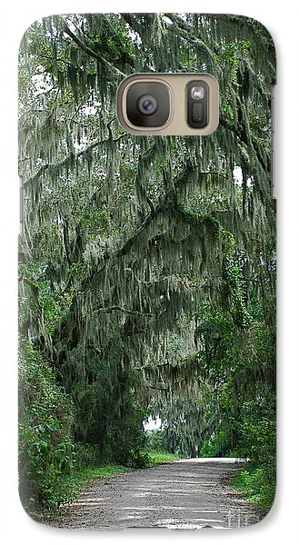 Galaxy Case featuring the photograph Back Roads by Kathy Gibbons