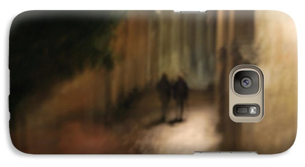 Galaxy Case featuring the photograph Back Street Of Barcelona Cathedral by Erhan OZBIYIK