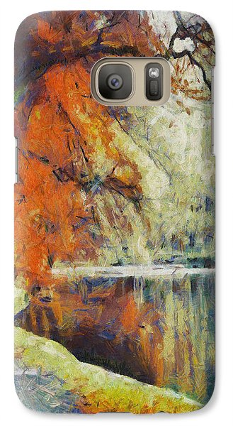 Galaxy Case featuring the painting Back To Our Dreams by Joe Misrasi