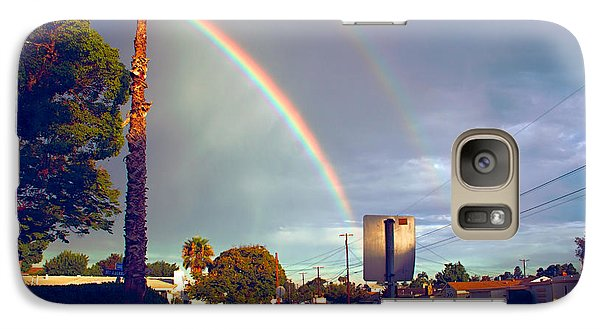 Galaxy Case featuring the photograph Back To School Rainbow by Jeremy McKay