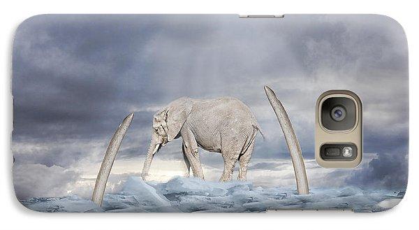 Galaxy Case featuring the digital art Back To The Ice Age by Angel Jesus De la Fuente