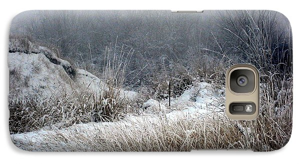 Galaxy Case featuring the photograph Back Woods Winter by Kathy Bassett