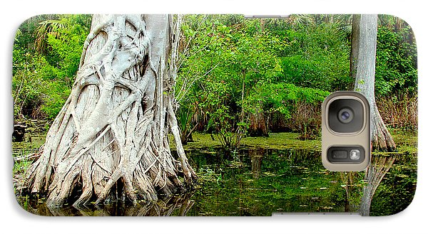 Catfish Galaxy S7 Case - Backcountry by Carey Chen