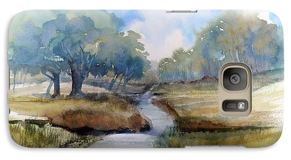 Galaxy Case featuring the painting Backroads Of Georgia by Sally Simon