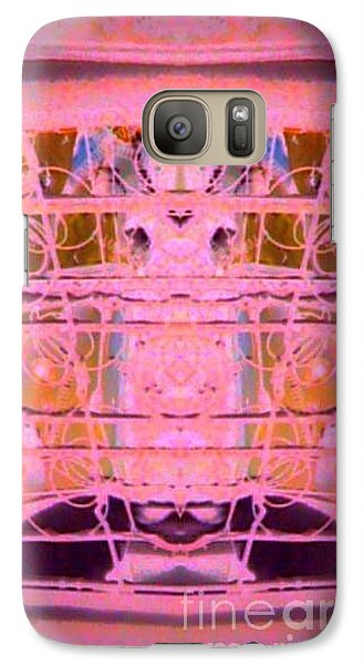 Galaxy Case featuring the photograph Backseat by Karen Newell