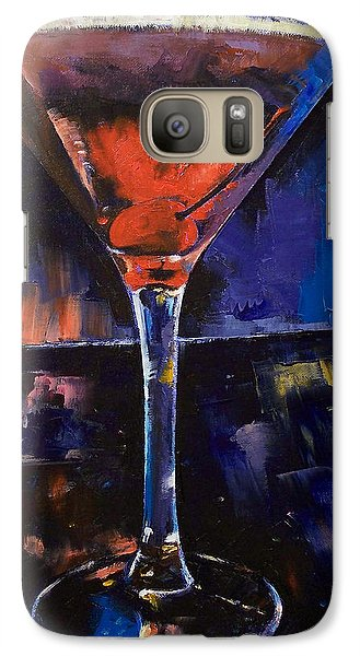 Backstage Martini Galaxy S7 Case by Michael Creese