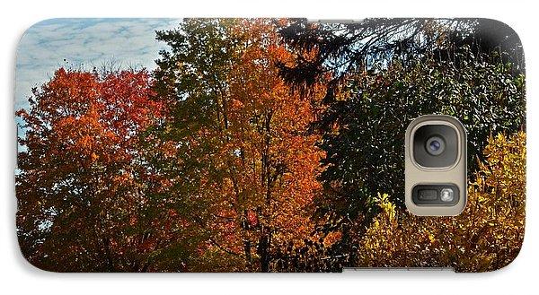 Galaxy Case featuring the photograph Backyard Beauty by Judy Wolinsky