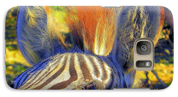 Galaxy Case featuring the photograph Bad Fur Day by Antonia Citrino