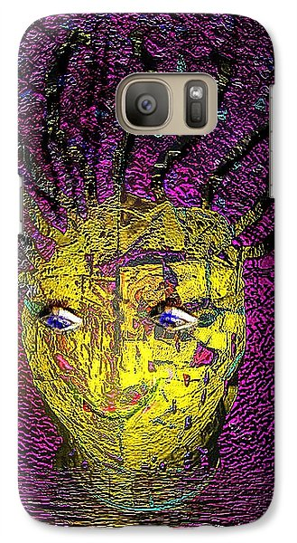 Galaxy Case featuring the photograph Bad Hair Day by Irma BACKELANT GALLERIES