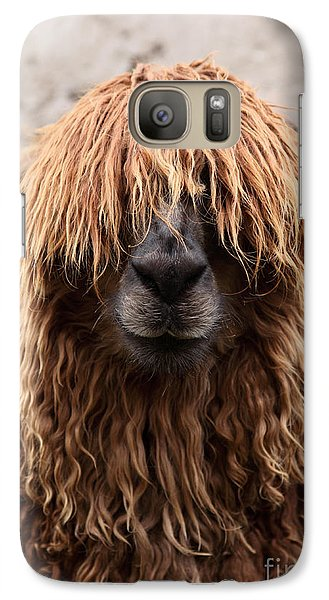 Bad Hair Day Galaxy Case by James Brunker