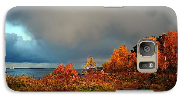 Galaxy Case featuring the photograph Bad Weather Coming by Randi Grace Nilsberg