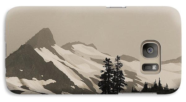 Galaxy Case featuring the photograph Fog In Mountains by Yulia Kazansky