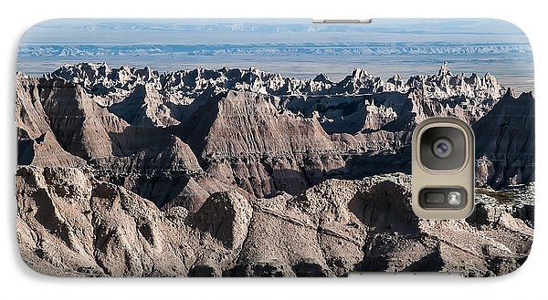 Galaxy Case featuring the photograph Badlands Lan386 by G L Sarti
