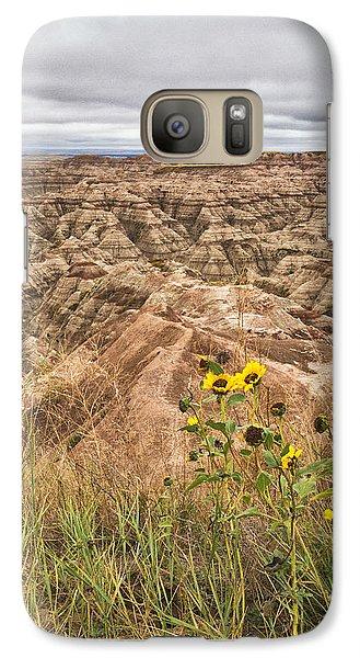 Badlands Wild Sunflowers Galaxy S7 Case