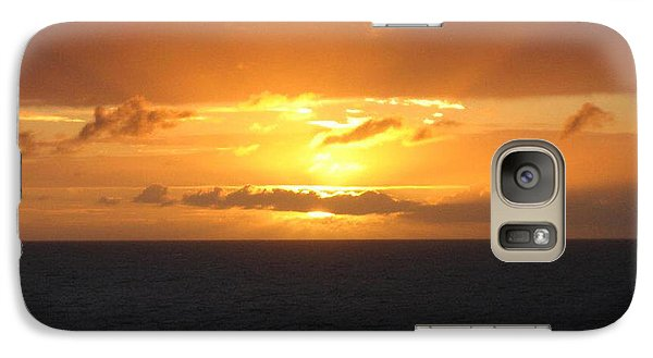 Galaxy Case featuring the photograph Bahamas Ocean Sunset by John Telfer