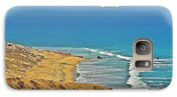 Galaxy Case featuring the photograph Baja California - Desert Meets Ocean by Christine Till