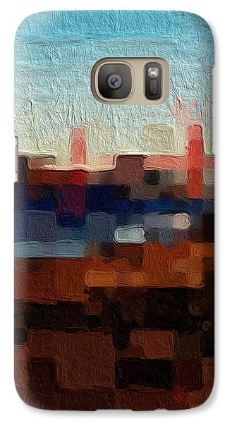 Baker Beach Galaxy Case by Linda Woods