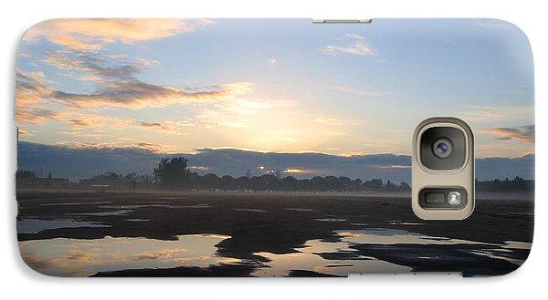 Galaxy Case featuring the photograph Bakersfield Sunrise by Meghan at FireBonnet Art