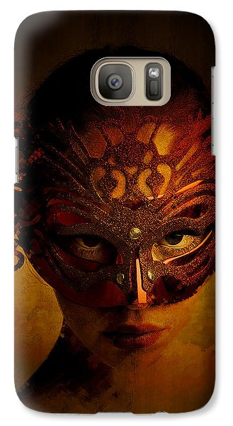 Galaxy Case featuring the digital art Bal Masque by Galen Valle