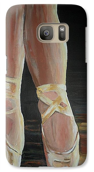 Galaxy Case featuring the painting Balance by Cherise Foster