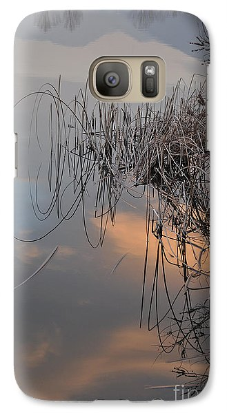Galaxy Case featuring the photograph Balance Of Elements by Simona Ghidini