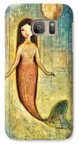 Mermaid Galaxy S7 Case - Balance by Shijun Munns