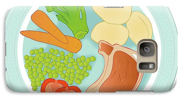 Balanced Meal Galaxy S7 Case by Jeanette Engqvist