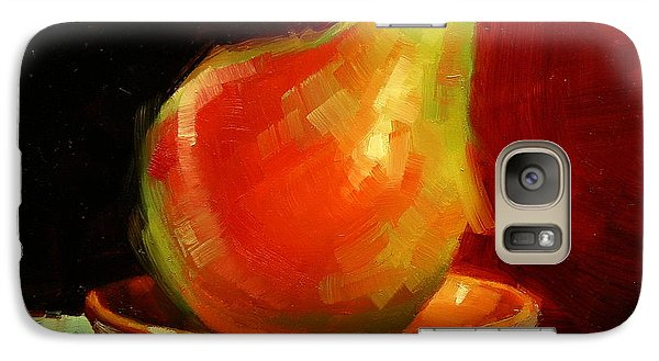 Galaxy Case featuring the painting Balancing Act by Margaret Stockdale