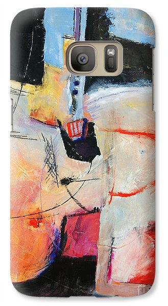 Galaxy Case featuring the painting Balancing Act by Ron Stephens