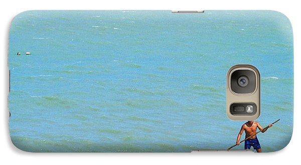 Galaxy Case featuring the photograph Balancing by Zinvolle Art