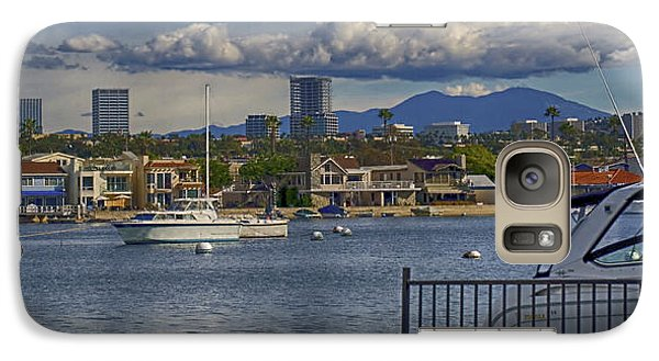 Galaxy Case featuring the photograph Balboa Island by Joseph Hollingsworth