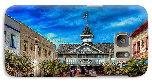 Galaxy Case featuring the photograph Balboa Pavilion by Jim Carrell