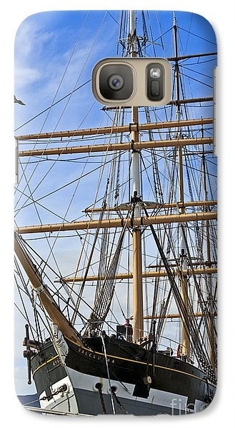 Galaxy Case featuring the photograph Balclutha by Kate Brown