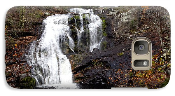 Galaxy Case featuring the photograph Bald River Falls by Robert Camp