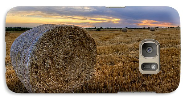 Galaxy Case featuring the photograph Baled by Scott Bean