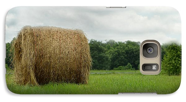 Galaxy Case featuring the photograph Bales by Tamera James