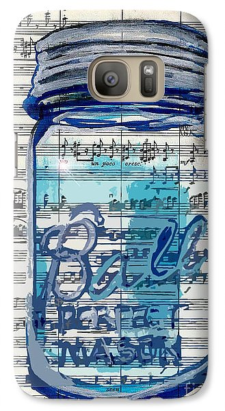 Galaxy Case featuring the painting Ball Jar Classical  #129 by Ecinja Art Works
