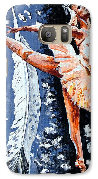 Galaxy Case featuring the painting Ballerina by Daniel Janda