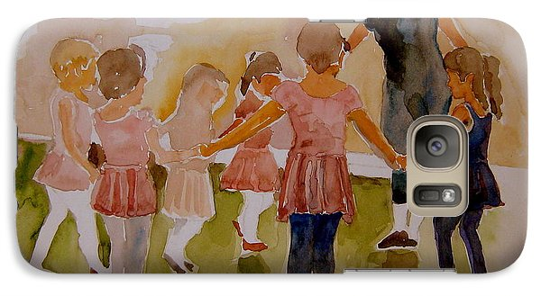 Galaxy Case featuring the painting Ballet Class by Jeffrey S Perrine